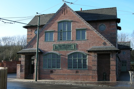 Workers Institute building at Black Country Living Museum, West Midlands, UK