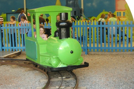 Train ride at Bob's building yard - Butlins Minehead