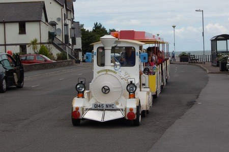 Dotto the Butlins train in Minehead