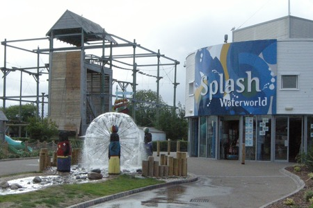 Splash Waterworld - indoor swimming pool at Butlins Minehead