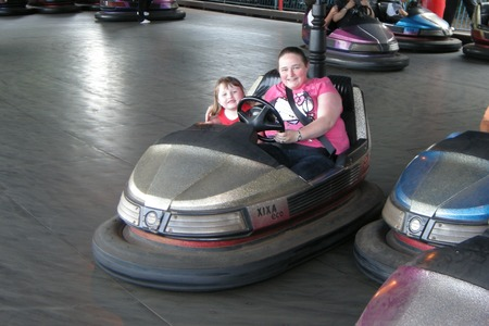 Dodgems at Butlins Minehead