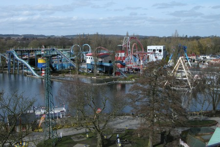 Drayton Manor Theme Park (Aerial view)