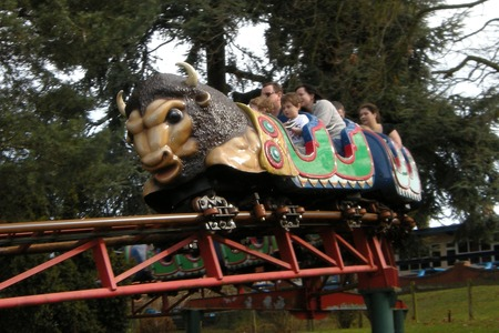 Buffalo Roller Coaster at Drayton Manor Park