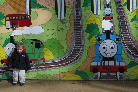 Thomas the Tank Engine Exhibition at Thomasland UK