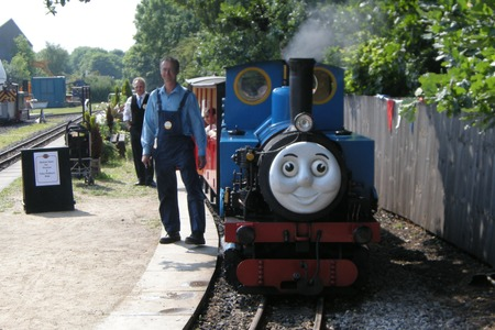 Thomas the Tank Engine at Kirklees Light Railway, Clayton West