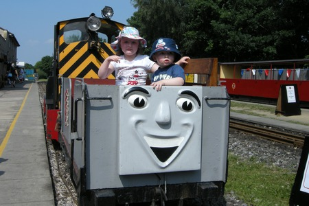 Mavis and The Troublesome Truck platform ride - Thomas Day at KLR