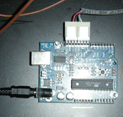 Arduino with right-angle PCB header