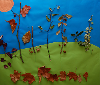 Crafts With Kids Autumn Craft Picture 2009