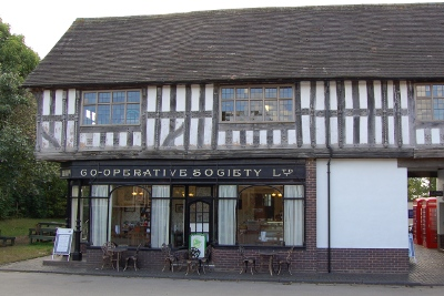 Co-op at Avoncroft Museum in Worcestershire