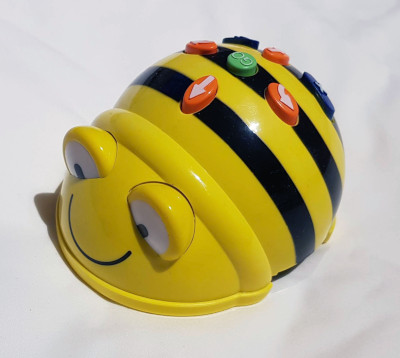 BeeBot used for Code Club programming activity