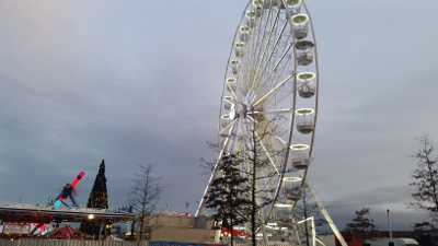 Big Wheel and Ice Rink for Birmingham Christmas Market 2017