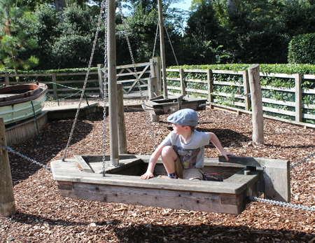 Brodsworth Hall children play area