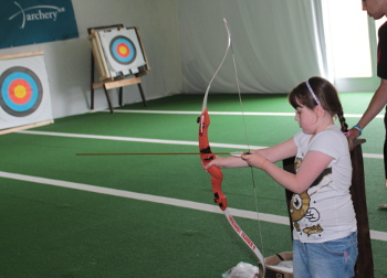 Archery at Butlins Minehead