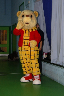 Rupert the Bear at Center Parcs Sherwood Forest