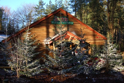 Santa's Workshop Winfell Forest Centre Parks near the Lake District