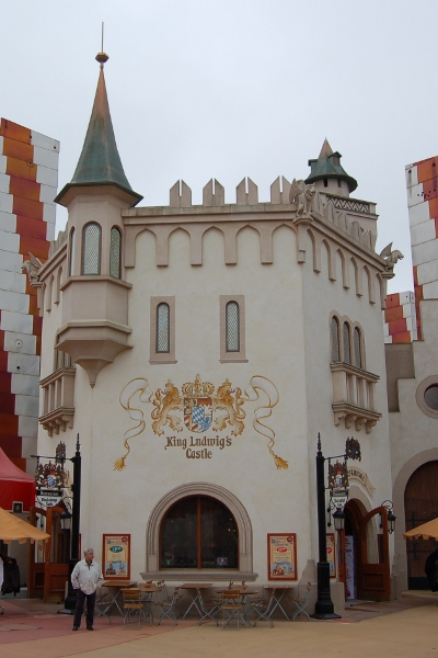 King Ludwigs Castle Restaurant at Disneyland Paris