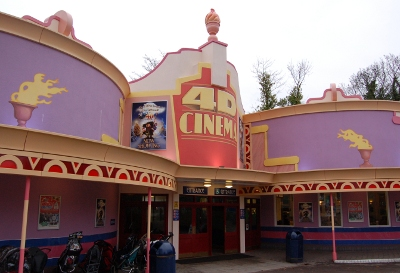 4D Cinema at Drayton Manor Park