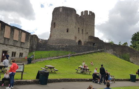 Social distancing at Dudley Zoo and Castle during Covid-19
