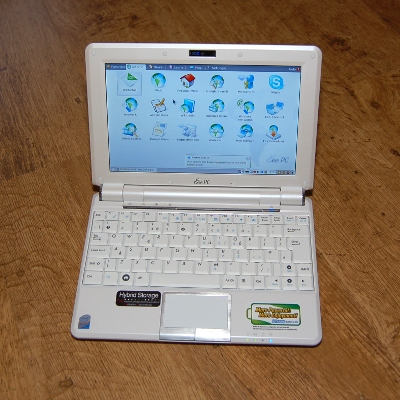 Eee PC running Linux