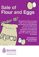 No eggs or flour to be sold to under 18s