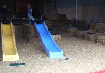 Play Barn Hay Bales and Slides, Children Farm