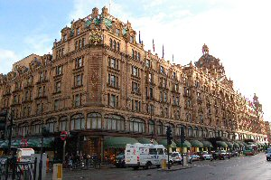 Harrods Store London England UK