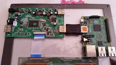 HDMI Pi upgrade to RPi2 / B+ - position the Raspberry Pi 2