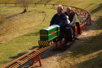 Kirklees Light Railway - Miniature sit-on railway