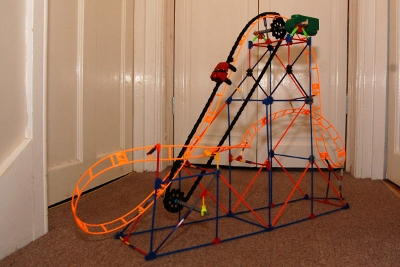 ROLLER COASTER INSTRUCTIONS KNEX