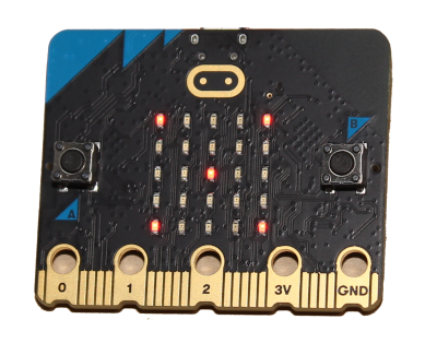 micro:bit v2 - new version 2 of coding device