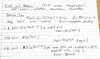 Exam from CS6505 algorithms - command and conquer