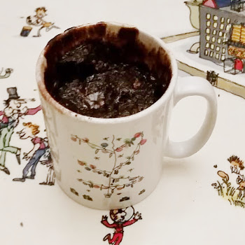 Microwave Chocolate Cake - in a mug