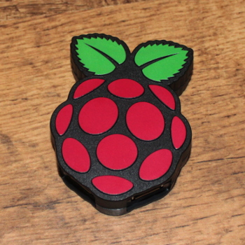 Raspberry shaped Raspberry Pi Hub - PiHub from Pimoroni