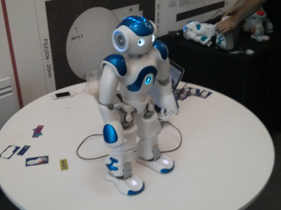 Robot at PyconUK