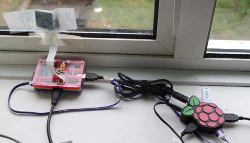 Raspberry Pi camera - RSPB birdwatch setup