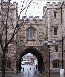 St. John's Gate Museum and Priory London England UK