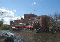 Stratford Royal Shakespeare Company Theatre and River Avon