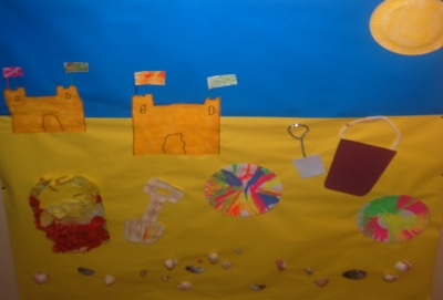 Summer Craft Picture - Seaside scene