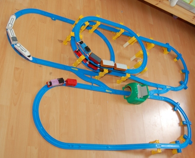 Fisher Price Thomas The Tank Engine Trackmaster Motor Road And Rail