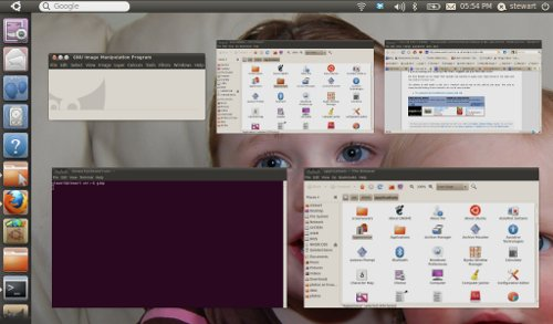 Ubuntu Netbook Remix - with Unity interface on UNR 10.04