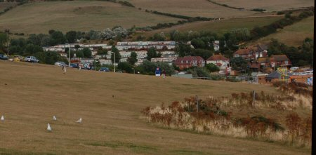 Waterside Caravan Park, Bowleaze Cove, Weymouth, Dorset, UK