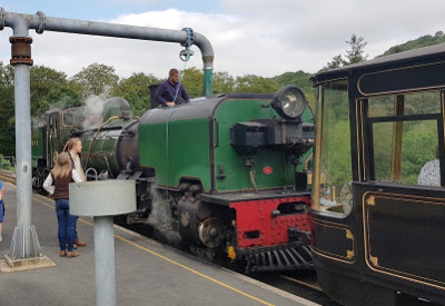 Garratt Locomotive on the Welsh Highland Railway