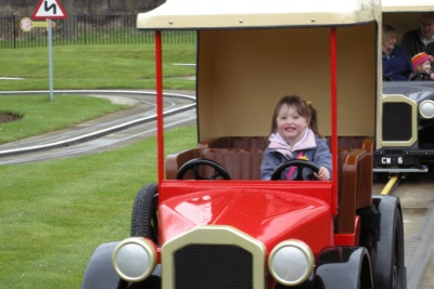 car ride at Wicksteed Park, Kettering
